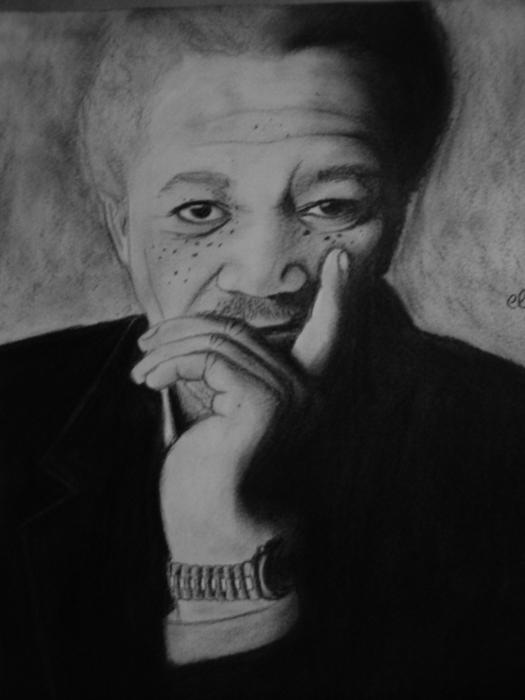 Morgan Freeman by ely1605